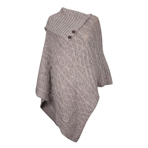 Wool Poncho, 100% British Wool