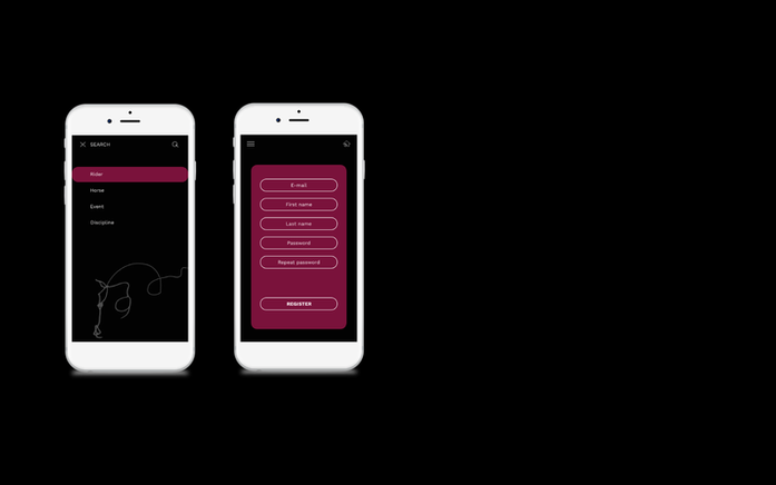 App mockup design