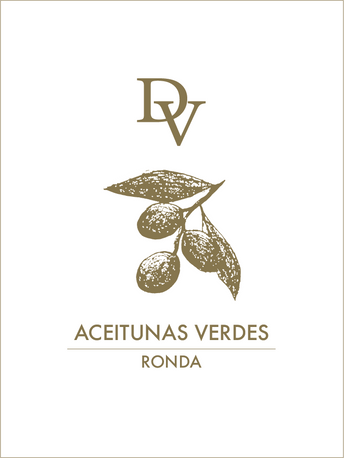 Front of olive label