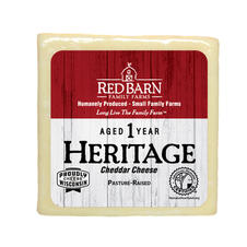 1 Year Aged Heritage White Cheddar Cheese
