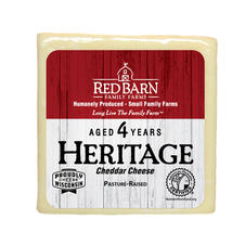 4 Year Aged Heritage White Cheddar Cheese