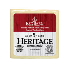 5 Year Aged Heritage White Cheddar Cheese