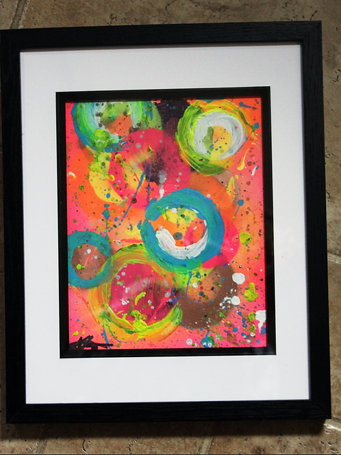 'Starbursts' Original Abstract