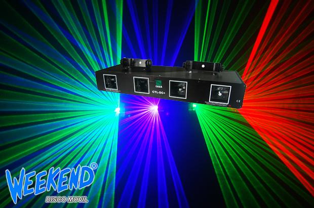Laser de 4 Diferentes Colores