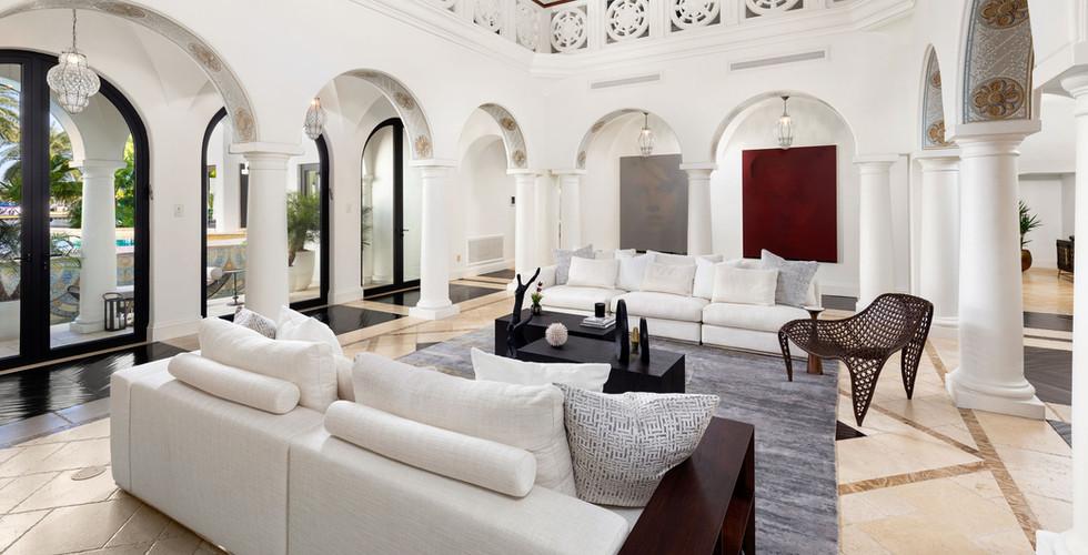 Villa Sole - Miami Beach Home Staging