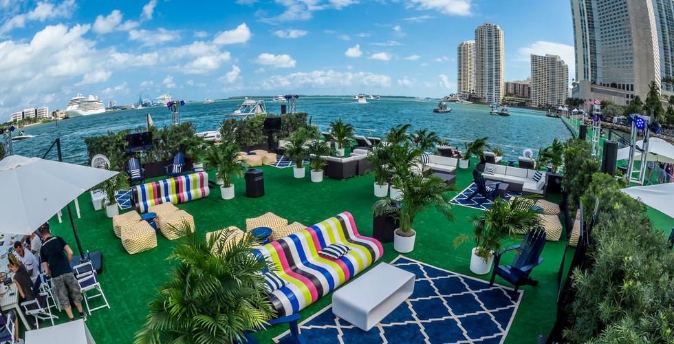 Ultra Music Festival Miami VIP island