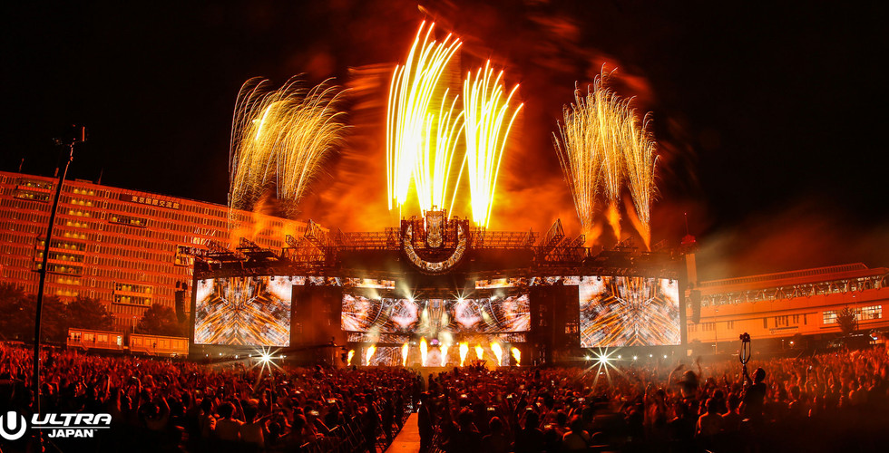 Ultra Music Festival Japan Main Stage