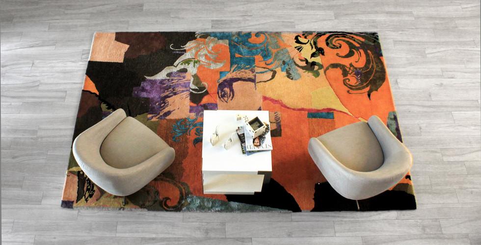 Rednoir Hello Area Rug Design Miami