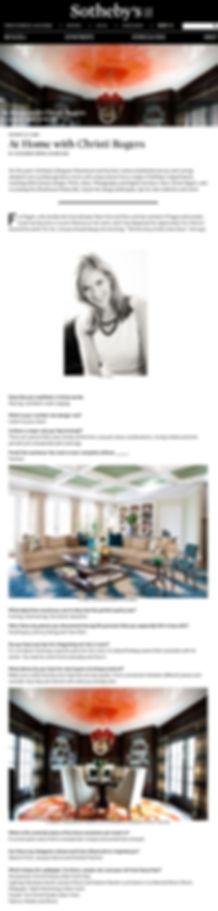 Christi Rogers CRD Associates Sothebys Showhouse pantry bar