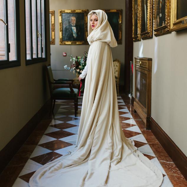 Feria Love&Winter 2017 Fotografía: Lorena San José Muah: Urvan Joyas/Tocado: Circa Antiqua Ramo: Flores en el Columpio