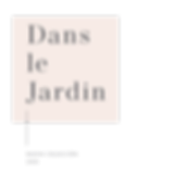 DANS LE JARDIN COLECCION NOVIA 2020