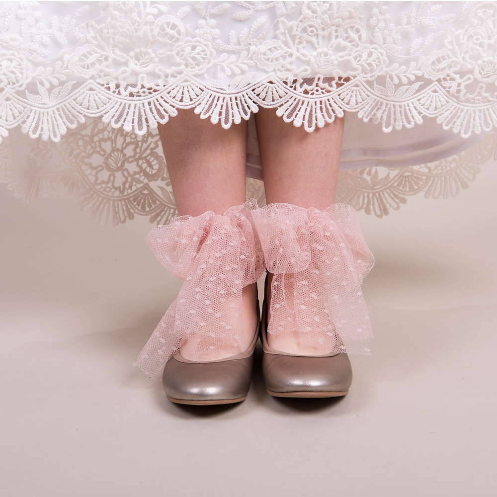 detalle zapatos comunión