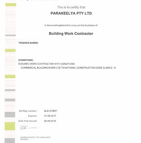 Parakeelya_Contractor Licence 1 PAGE pdf