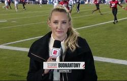 ESPN sidelines at BYU