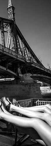 Legs on the Danube - Budapest   Edward Steel Photography