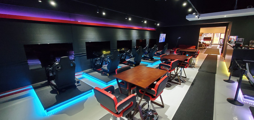 Official Simucube reseller Simulation 1 Systems sells Simucube Direct Drive wheelbases and provides racing lounge for simracers