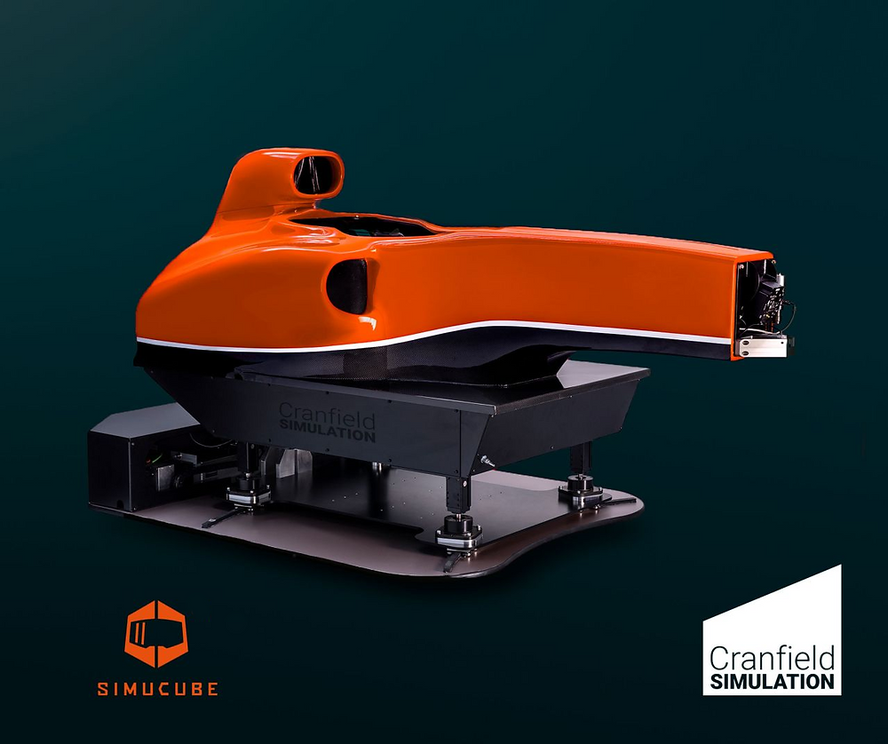 Cranfield Simulation, Official OEM partner of Simucube.