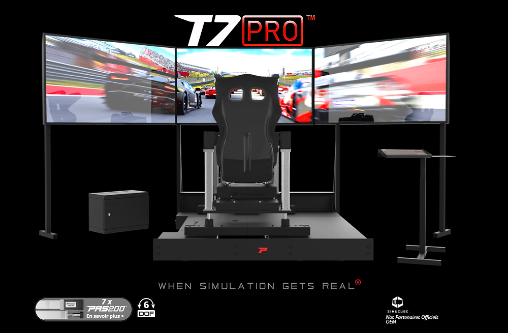 ProSimu, Official Simucube OEM Partner, offers racing simulators with Simucube 2 Sport, Pro and Ultimate Direct Drive Force Feedback wheelbase for sim racers and professional drivers.