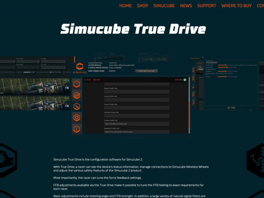 Simucube True Drive Early Access for Simucube 2 R1 and Ultimate Racers