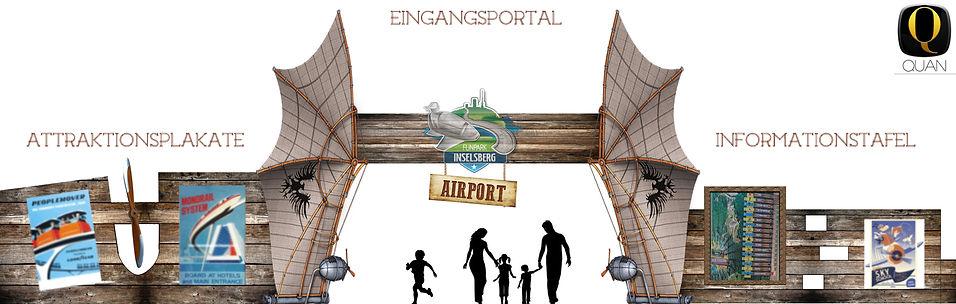 QUAN - Inselsberg - Airport Eingang 5 Ko