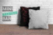 QUAN - Merch - MINiBar - Pillow both - 1