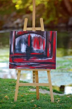 """Depth""-Acrylic on canvas"