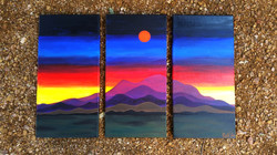 CROW SUNSET - PRIVATE COLLECTION