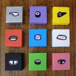 3D SUSHI SERIES 1 - SOLD