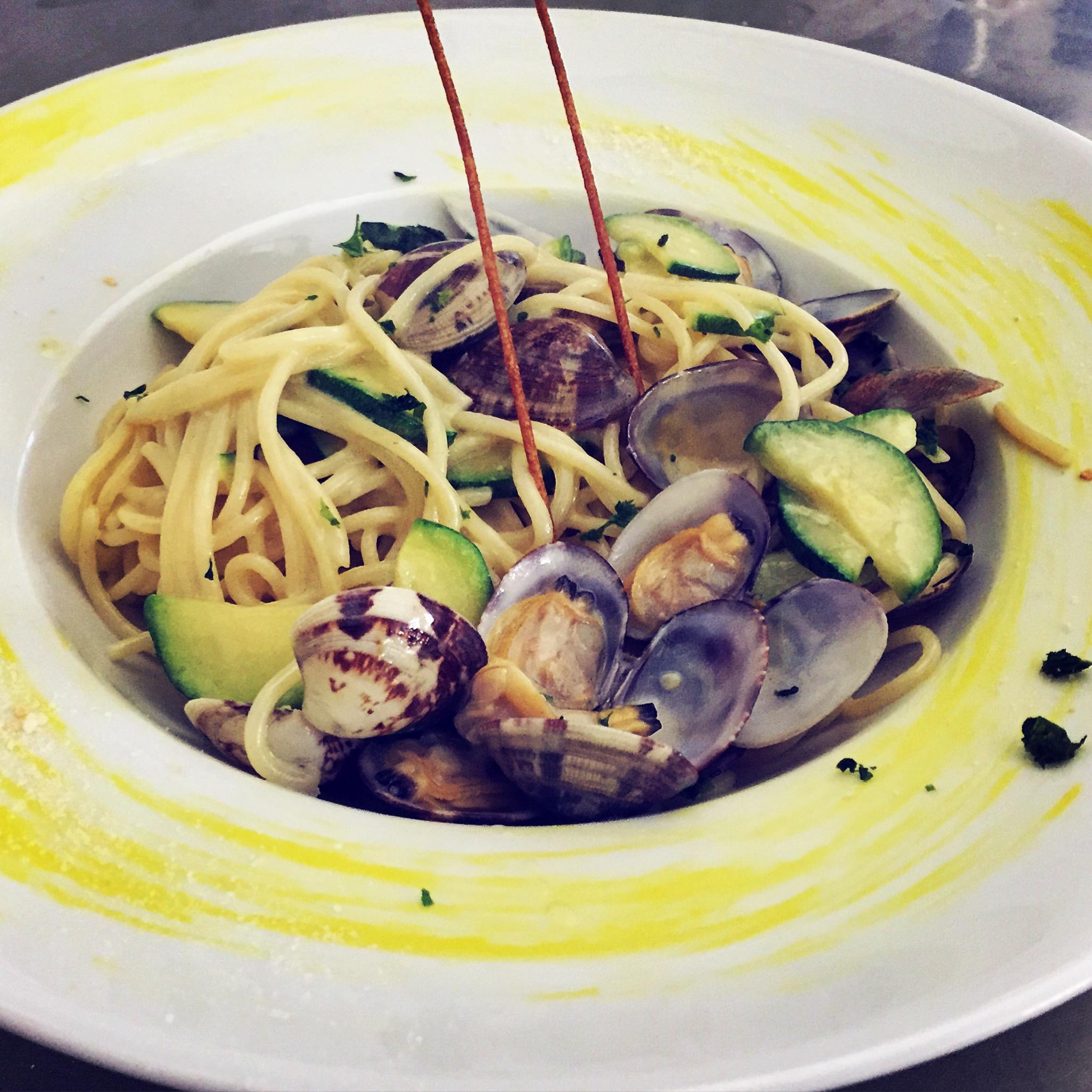 Spaghetti Voloe e Zucchine