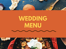 Weddings Menu