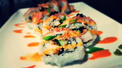#Sushi #SrirachaDradonRoll