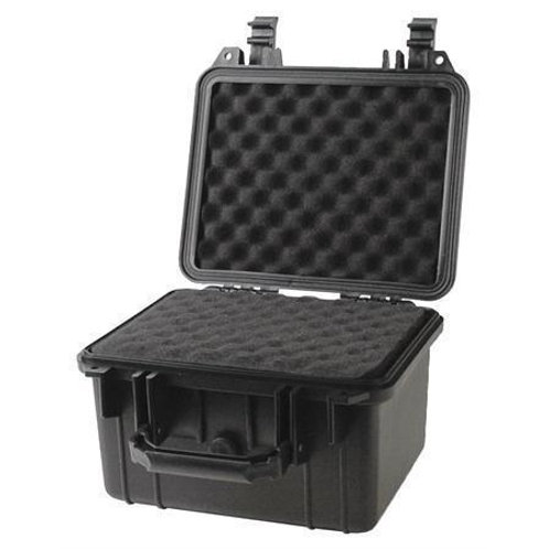 Black Tactical Weatherproof Equipment Case Eco Deep