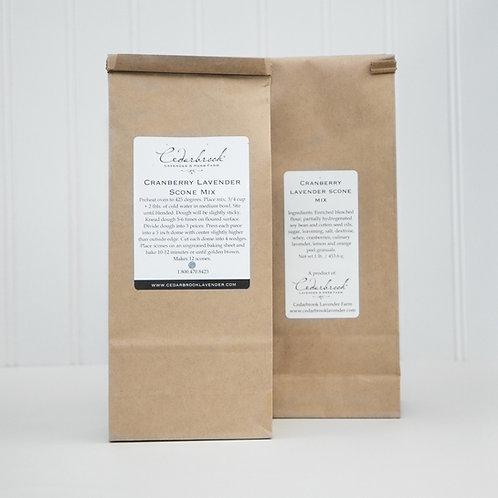 Cranberry Lavender Scone Baking Mix
