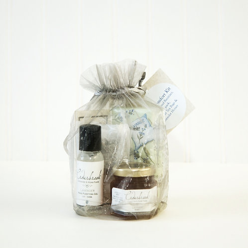 Cedarbrook Cold and Flu Gift Set