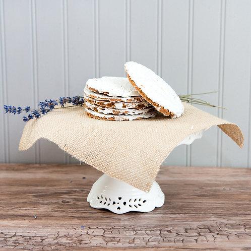 Famous Lavender Lace Cookies