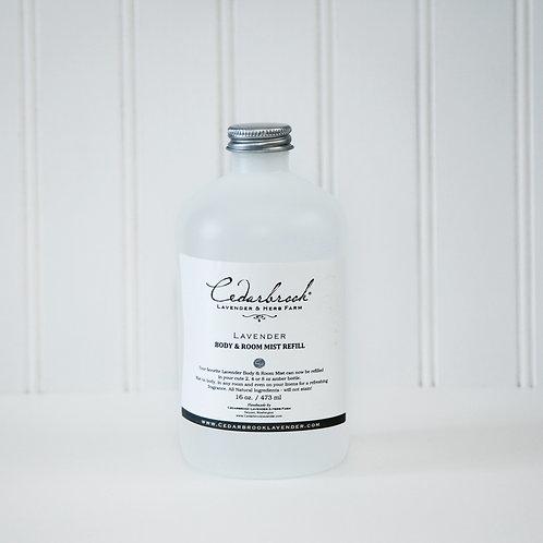 Lavender Body, Linen, Room Mist Refill