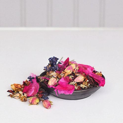 Handmade Lavender Rose Potpourri Sachet