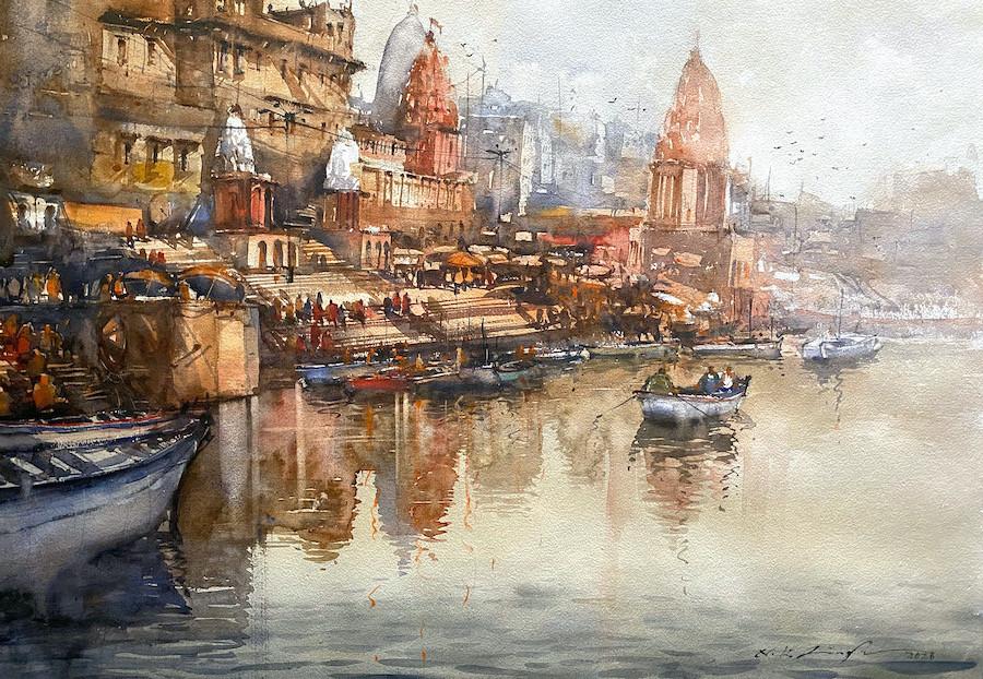 Banaras painting