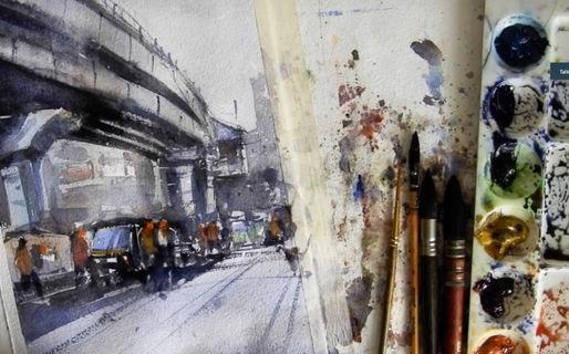 Online watercolor class for beginners.jp