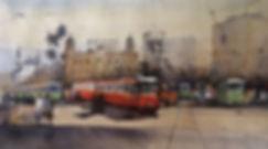 Original watercolor painting for sale in nitin singh online watercolor artwork gallery.