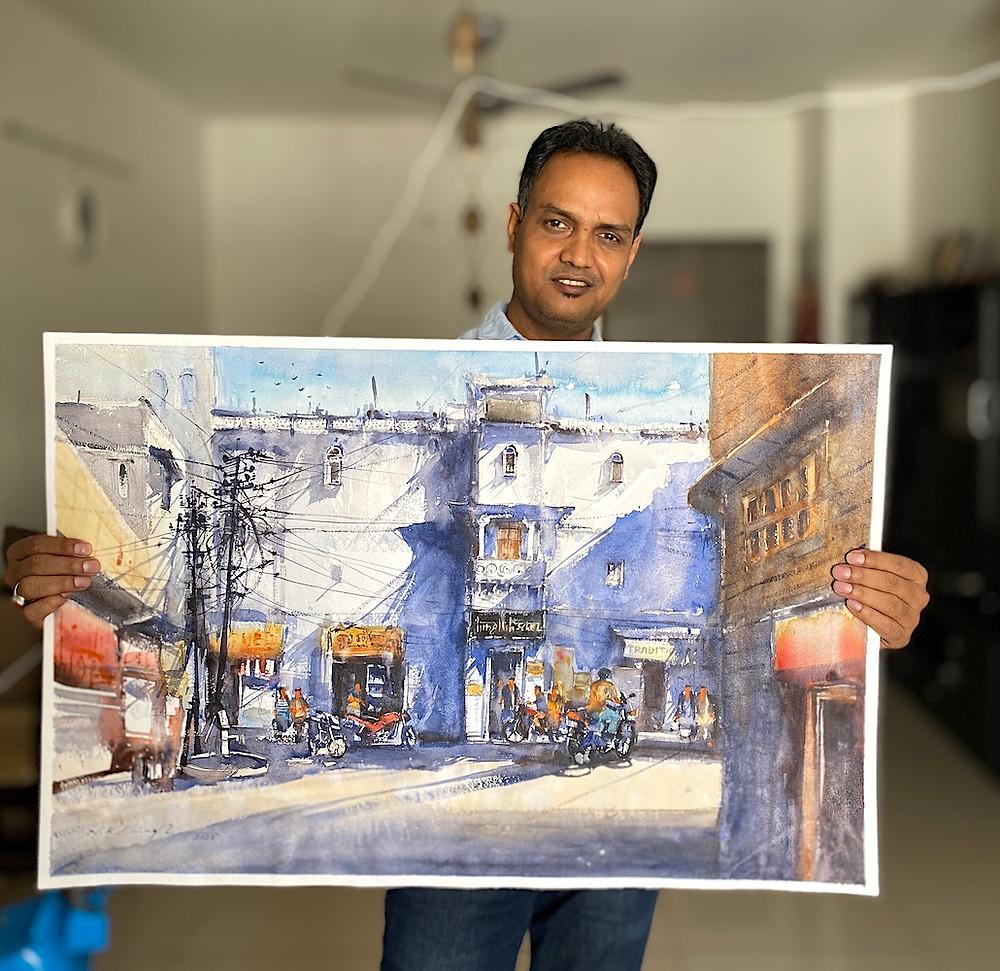 watercolor art prints for sale