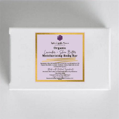 Organic Lavender + Shea Butter Body Bar