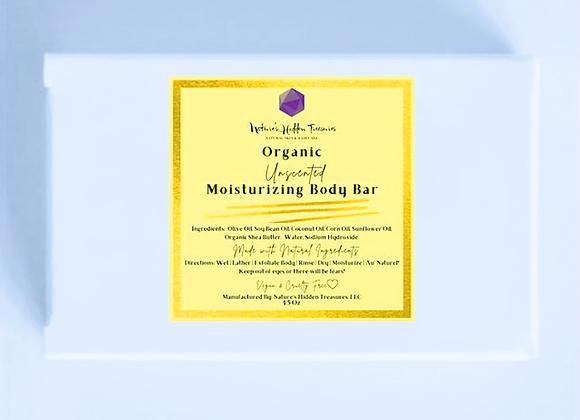 Unscented  Moisturizing Body Bar   4.5 oz.