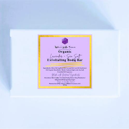 Lavender + Sea Salt Soap Bar