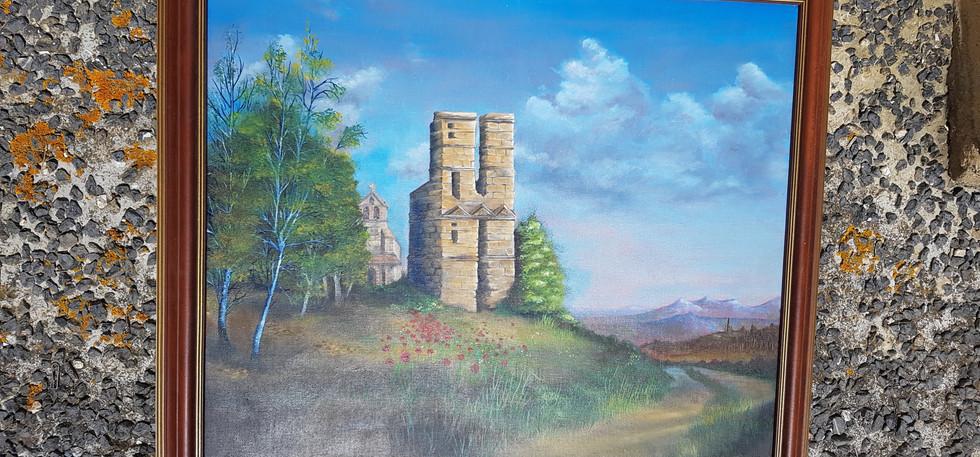 Le château de Thermes-Magnoac