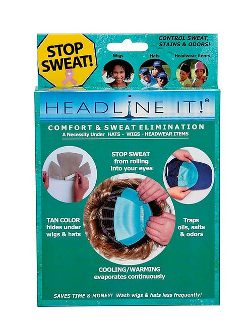 Headline It! Cooling Wig Liners