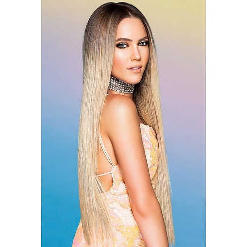 """Hairdo Invisible Halo Extensions 20"""" Heat Friendly Synthetic"""