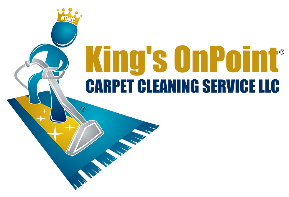 King's OnPoint Carpet Cleaning Logo - Tr