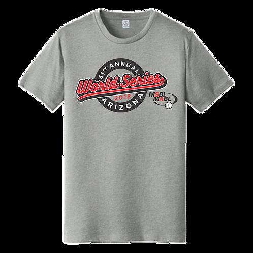 2018 MSBL / MABL World Series Shirt