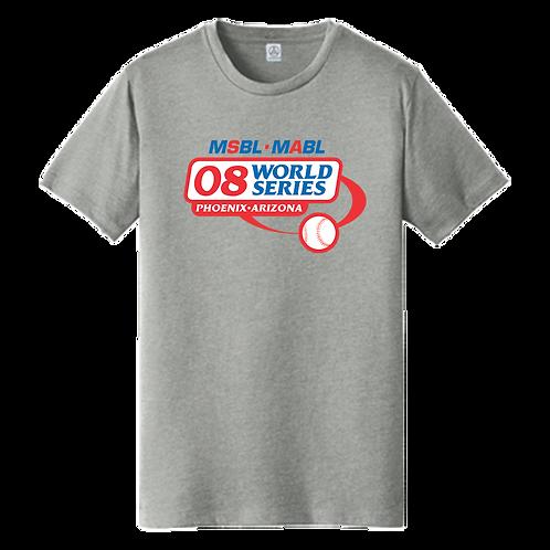 2008 MSBL / MABL World Series Shirt